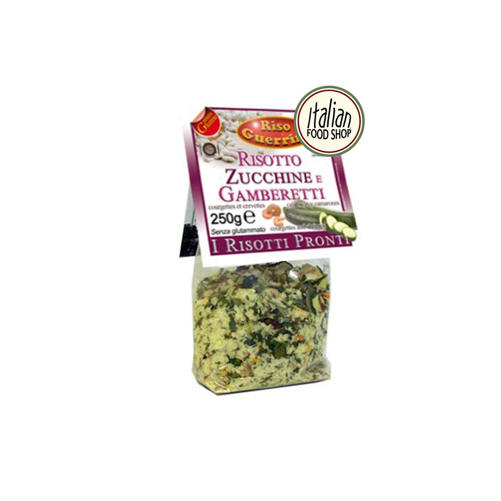 risotto zucchine e gamberetti